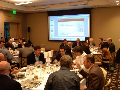 trinity venture ceo and founder dinner pic 1